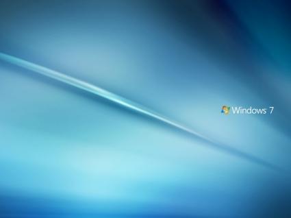 Windows 7 Blue Wallpaper Windows Seven Computers