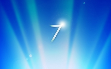 Windows 7 Glow Blue