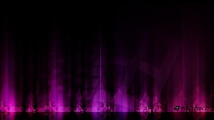 Windows 7 Purple Aurora