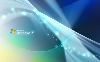 Windows Seven Abstract