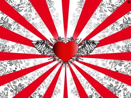 Wings of Love Vector