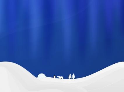 Winter simple vector Wallpaper Vector 3D