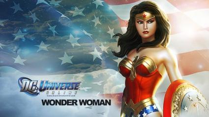 Wonder Woman in DC Universe Online