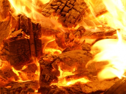 Wood Fire Wallpaper Other Nature