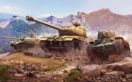 World of Tanks Chinese Tanks
