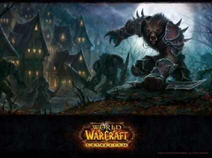 World of Warcraft Cataclysm Wallpaper World of Warcraft Games