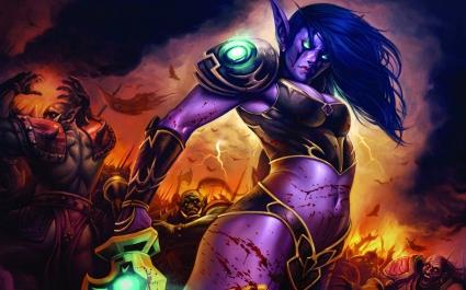 World of Warcraft Lady