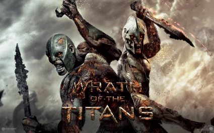 Movie: wrath of the titans 2d digital, concept art, fantasy.