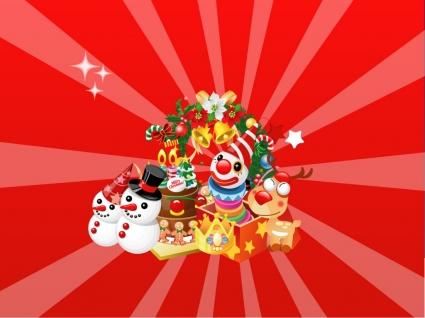 Xmas Vector Wallpaper Christmas Holidays