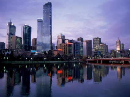 Yarra River Wallpaper Australia World