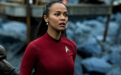 Zoe Saldana Uhura Star Trek Beyond