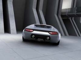 2007 Panthera Concept Rear Wallpaper Concept Cars