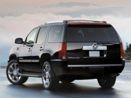 2008 Cadillac Escalade Rear Wallpaper Cadillac Cars