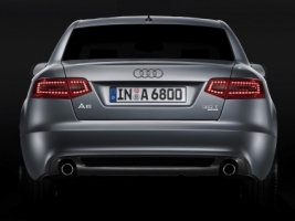 2009 Audi A6 rear Wallpaper Audi Cars