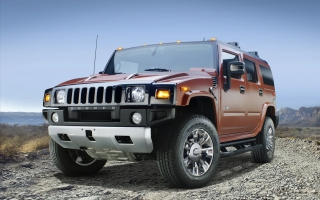 2009 Hummer H2 Sedona Metallic Black Chrome