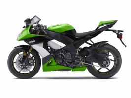 2009 Kawasaki Ninja ZX 10R Green