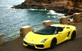 2009 Lamborghini Gallardo LP560 4 Spyder 2