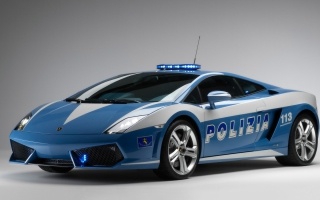 2009 Lamborghini Gallardo LP560 Police Car