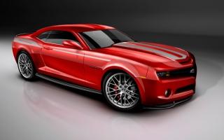 2010 Camaro Red