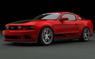 2010 Ford Mustang at SEMA 2009 3