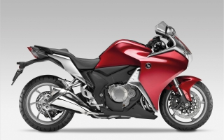 2010 Honda VFR1200F Bike Widescreen