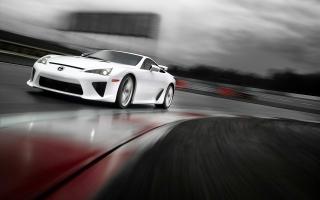 2011 Lexus LFA Rain Race