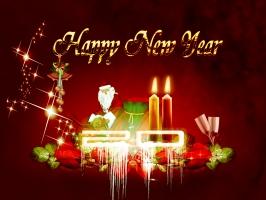 2011 New Year Santa