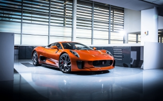 2015 Jaguar C x75 007 Spectre Bond Car