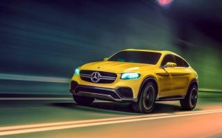 2015 Mercedes Benz GLC Coupe Concept