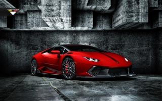 2016 Rosso Mars Novara Edizione Lamborghini Huracan