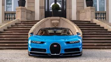 2017 Bugatti Chiron Geneva Auto Show 2016