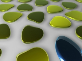 3D Spots Wallpaper Abstract 3D