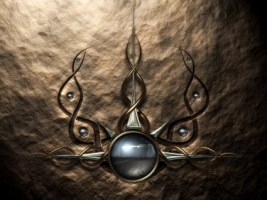 3D Tribal Wallpaper Abstract 3D