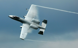 A 10 Thunderbolt II ground attack aircraft