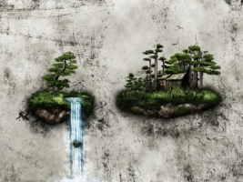 A Place To Live Wallpaper Photo Manipulated Nature