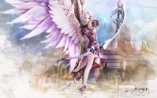 Aion Fantasy CG Archer Girl