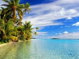 Aitutaki Lagoon Wallpaper Beaches Nature