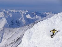 Alaskan Snowboarding Wallpaper Snowboarding Sports
