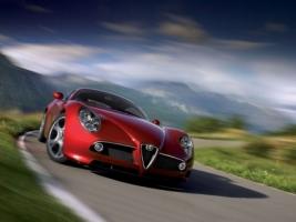 Alfa Romeo 8C Competizione Wallpaper Alfa Romeo Cars