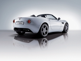 Alfa Romeo 8C Spider Wallpaper Alfa Romeo Cars