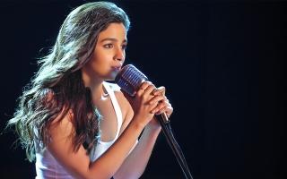 Alia Bhatt Singer