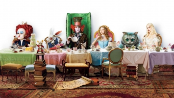 Alice in Wonderland HD Multi Monitor
