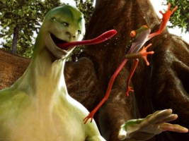 Alien Creature Wallpaper 3D Characters 3D