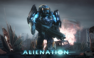 Alienation PS4 Game 4K 8K
