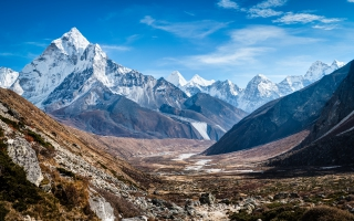 Ama Dablam Himalaya Mountains