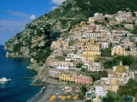 Amalfi Coast Wallpaper Italy World
