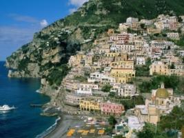 Amalfi Coast Wallpaper Italy World
