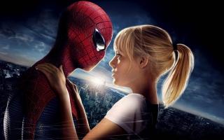 Amazing Spider Man Emma Stone