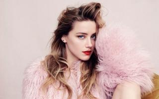 Amber Heard Elle Magazine