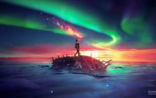 Ancient Future Sky Sea